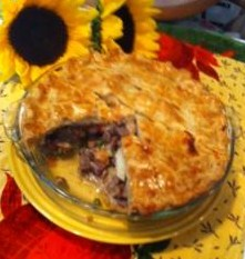 Beef n Mushroom Pie - My Yellow Farmhouse.jpg