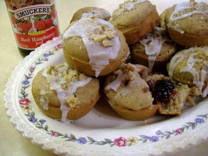 Raspberry Surprise Muffins