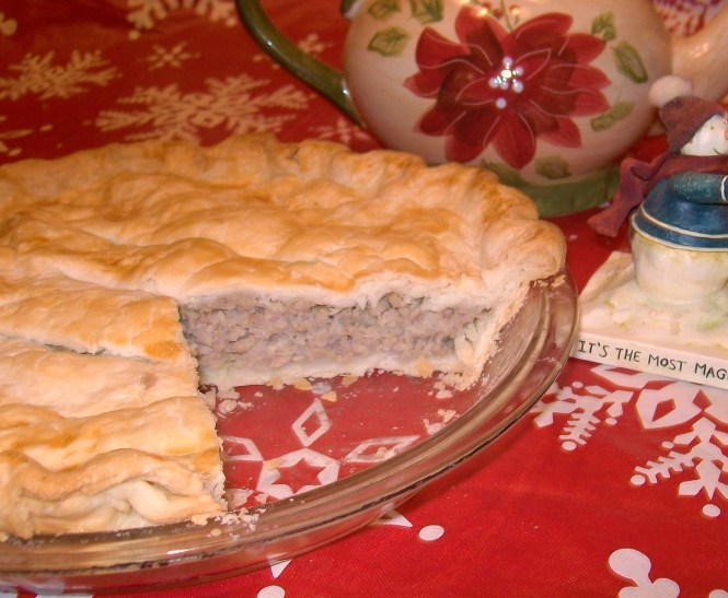 Grammy Brouillette's French Canadian Meat Pie - My Yellow Farmhouse.com