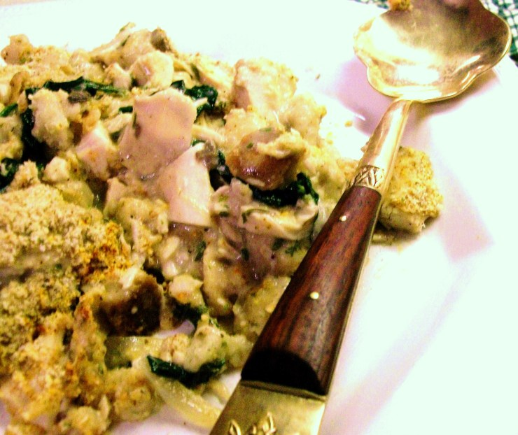 Turkey Strata (Casserole) - Uses Leftover Turkey and Stuffing! - My Yellow Farmhouse.com