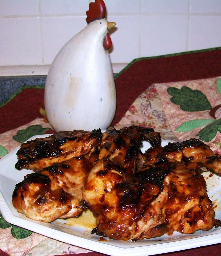 Oven 'Barbecued' Chicken - myyellowfarmhouse.com