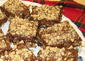 M & C's Chocolate and Oatmeal Bars