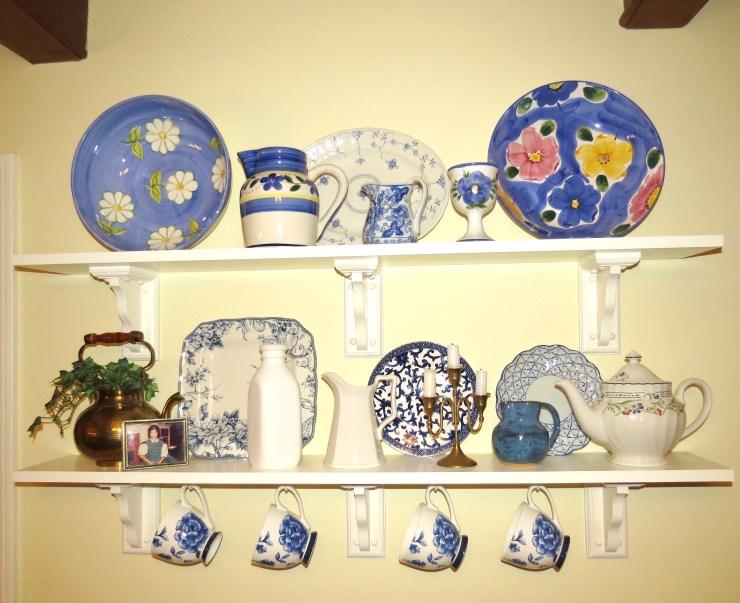 Kitchen - shelf - myyellowfarmhouse.com