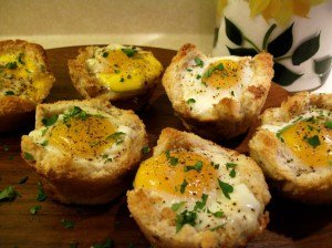 Bacon and Egg Cups - Use for Blog