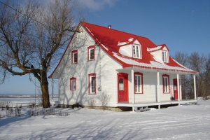 Our farmhouse - St. Antoine de Tilly, Quebec