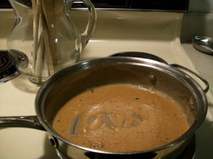 Making the Roux