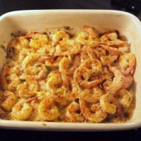 Cajun Garlic & Butter Broiled Shrimp