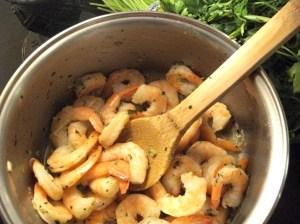 Cajun Butter and Garlic Broiled Shrimp