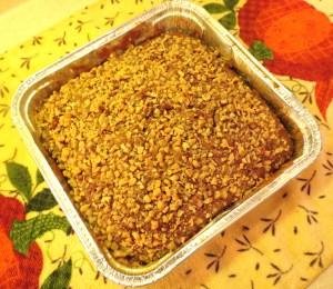 Snackin' Cake - Butter Brickle - Baked