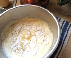 Flour, Salt and Butter etc. - for popovers - My Yellow Farmhouse.com