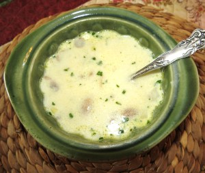 Mushroom Soup - Made Entirely in Your Microwave - My Yellow Farmhouse.com
