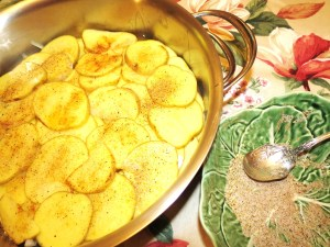 USE - potatoes - Skillet Chicken Dinner 009