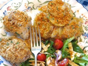 USE - skillet chicken dinner - plated 003