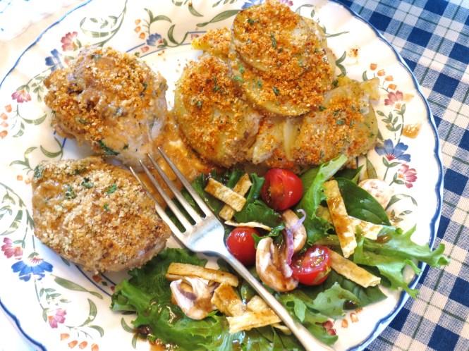 Skillet Chicken Dinner - My Yellow Farmhouse