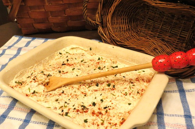 USE - uncooked - Warm Artichoke and Crab Dip and Xmas Angel