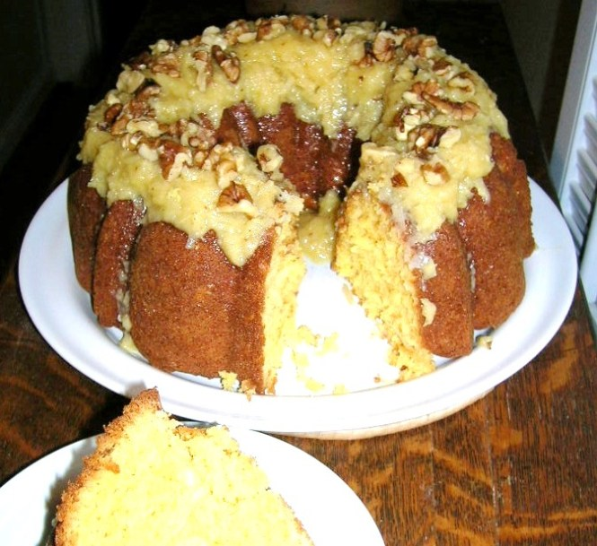 Coconut Pound Cake - The Southern Lady Cooks