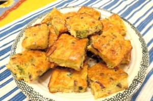 Grab 'n Go - Crustless Quiche Squares - My Yellow Farmhouse.com
