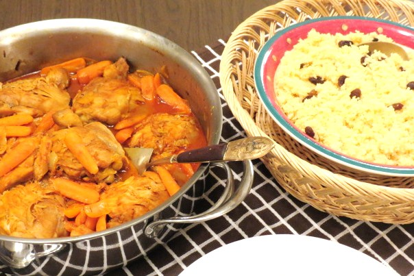 Moroccan Chicken and Couscous - My Yellow Farmhouse.com