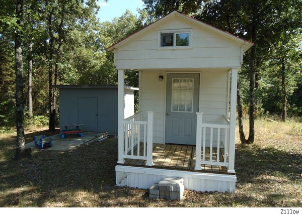 A little house in Arkansas... so much like the one I dreamt about...!!!