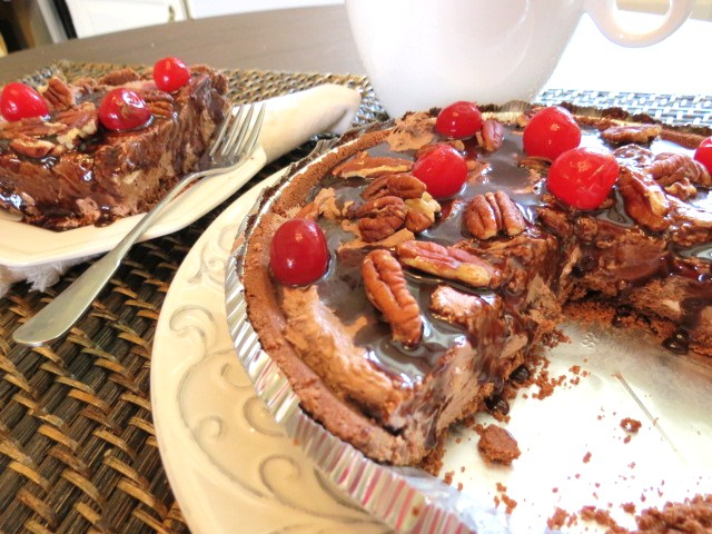No Bake Chocolate Pie - My Yellow Farmhouse