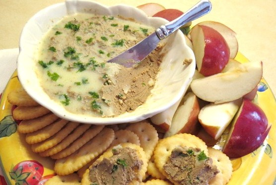 Pate Made with Shallots and Brandy - My Yellow Farmhouse.com