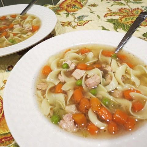 Turkey Soup - 'My Yellow Farmhouse.com'