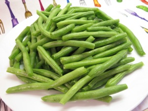 Green Beans with Browned Butter and Sesame Seeds - My Yellow Farmhouse.com