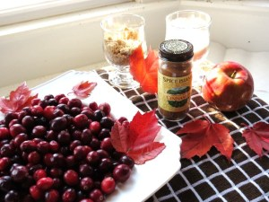 Homemade Whole-Berry Cranberry Sauce with Apple and a Hint of Cinnamon - My Yellow Farmhouse.com