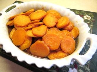 Sweet Potatoes with Cinnamon, Nutmeg and a Dash of Bourbon - My Yellow Farmhouse.com