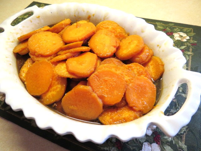 Sweet Potatoes with Cinnamon, Nutmeg and a Dash of Bourbon - My Yellow Farmhouse.com