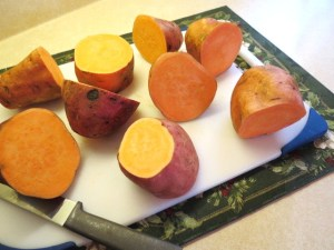 'Make Ahead Turkey Dinner -Sweet Potatoes with Cinnamon, Nutmeg and a Spash of Brandy - My Yellow Farmhouse.com