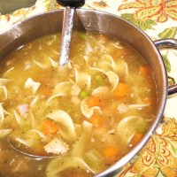 Saturday-After-Thanksgiving Turkey Noodle Soup