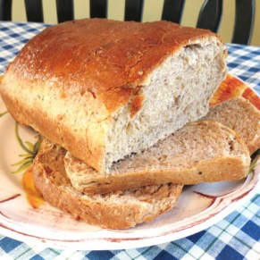 2 - Nutty Oatmeal and Wholewheat Bread - My Yellow Farmhouse