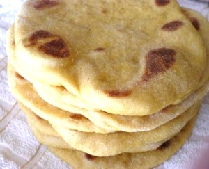 Egyptian Flat Bread - courtesy of Egyptian Food Recipes.com