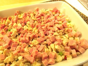 Ham, Chicken and Potato Bake - myyellowfarmhouse.com