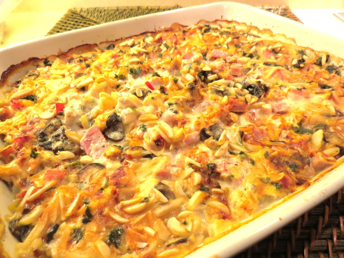 'A Little Help from My Friends' Ham, Chicken and Potato Bake