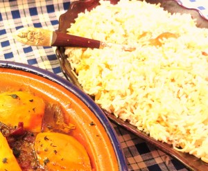 Moroccan Chicken and Rice Pilaf - - myyellowfarmhouse.com