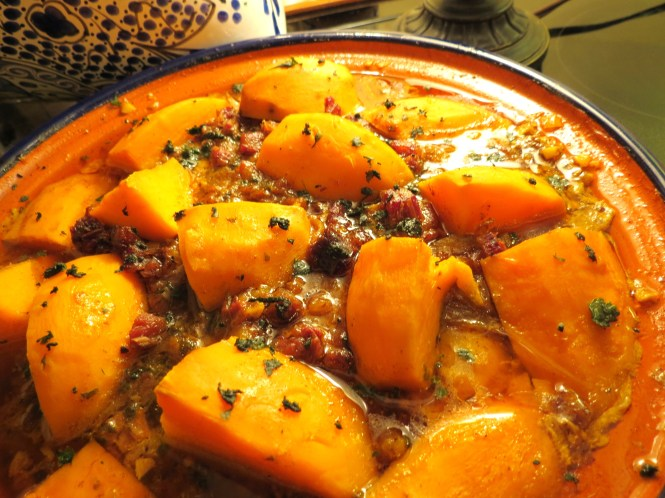 Moroccan Chicken Tagine with Sweet Potatoes and Dates - - myyellowfarmhous.com