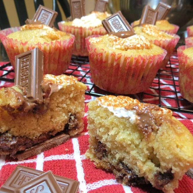 S'Mores Cupcakes - myyellowfarmhouse.com