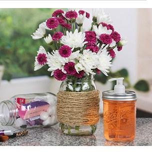 mason jars n more sharing some outdoor decorating ideas i ve saved on pinterest. Black Bedroom Furniture Sets. Home Design Ideas