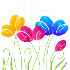 tulips - clipart