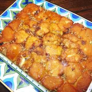 Monkey Bread Bread Filled with Cream Cheese & Chocolate - myyellowfarmhouse.com (2)