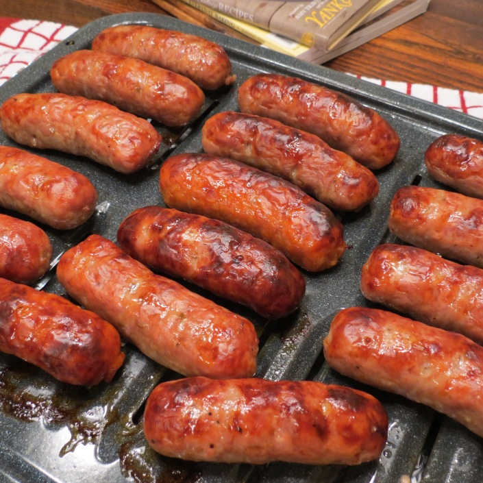 Quick 'n Easy Oven Baked Italian Sausage