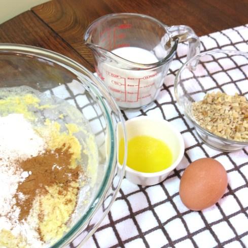 1 -Hearty Cornmeal Pancakes with Cinnamon & Walnut - myyellowfarmhouse.com