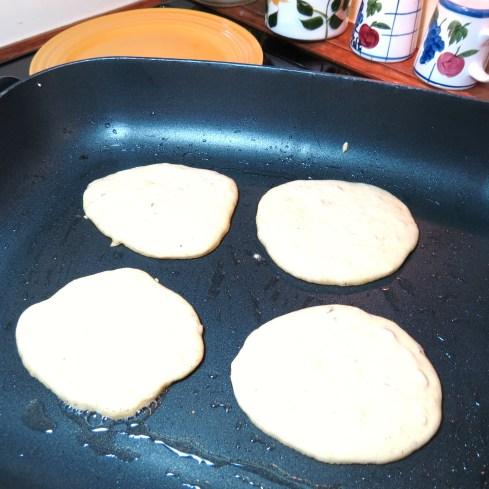 2 -Hearty Cornmeal Pancakes with Cinnamon & Walnuts - myyellowfarmhouse.com