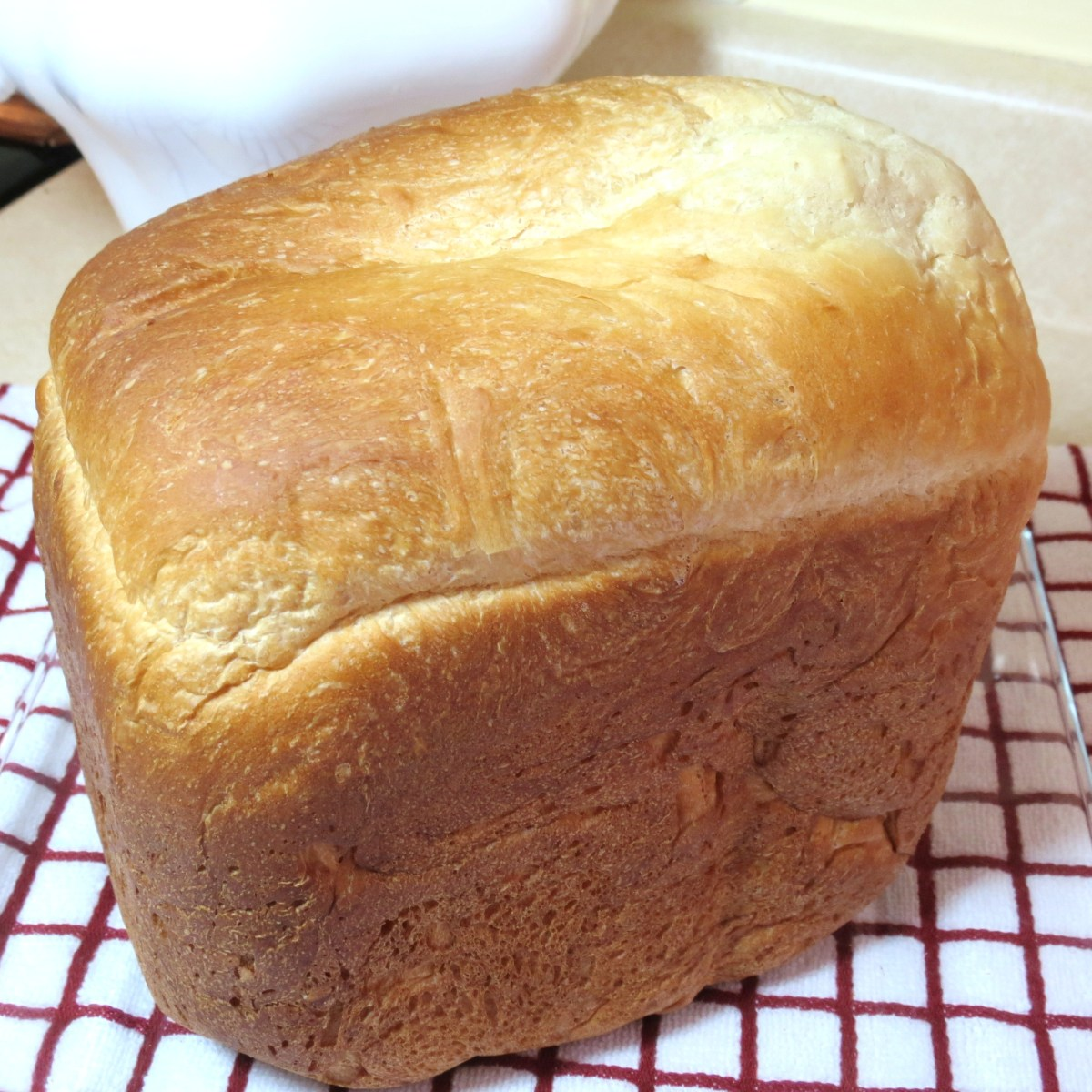 'Five-Star' White Sandwich Bread  -  Prepared in a Bread Maker