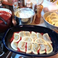 3 - Mushroom Ravioli Lasagna - My Yellow Frmhouse 006