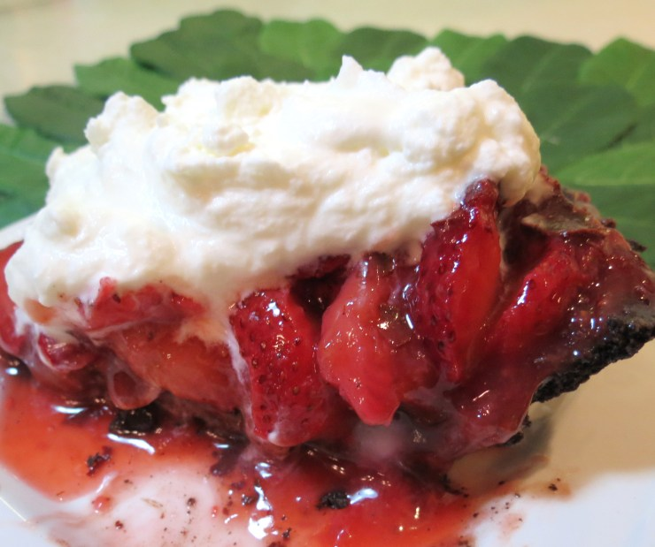 Love Chocolate Covered Strawberries - Then You're Goona Love This Pie!