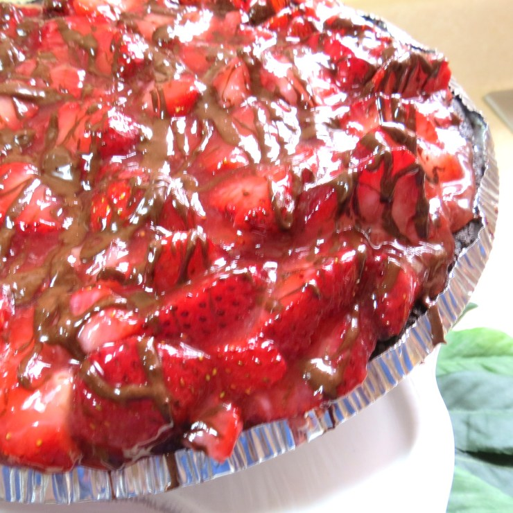 Love Chocolate-Dipped Strawberries - Then You'll Love This Pie!