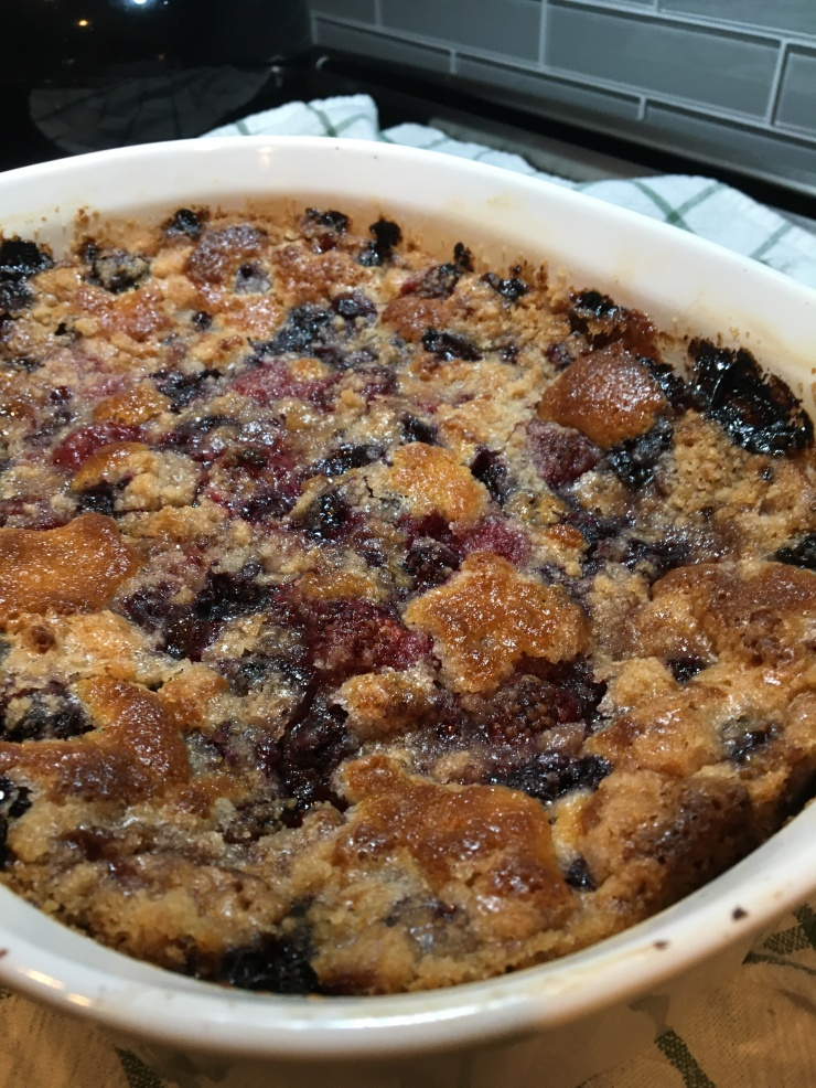 Mixed. Berry 'Bubble Up' Cobbler - My Yellow Farmhouse